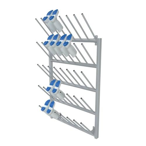 Boot storage racks