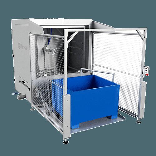 EDW - Myjki do mycia skrzyniopalet / wózków farszu