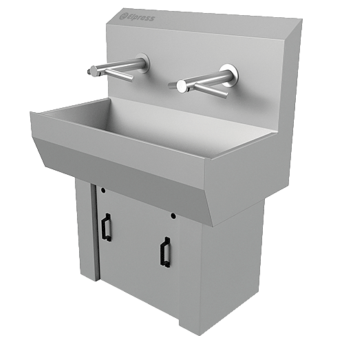 Elpress wash basin with hand dryer