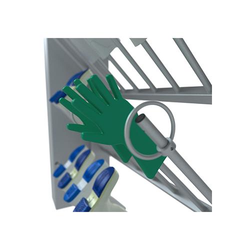 Optionele handschoenenhouder