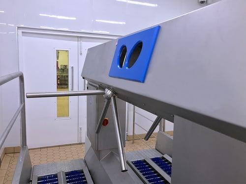 Hygienic entrance