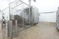Lavadora de contenedores