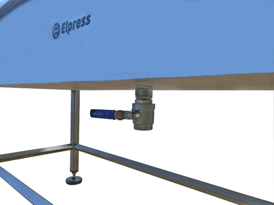 Elpress brush cleaning station