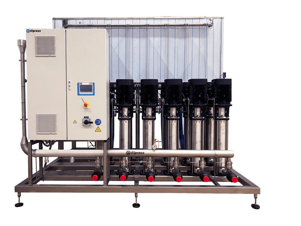 Elpress Pressure booster units 40 bar