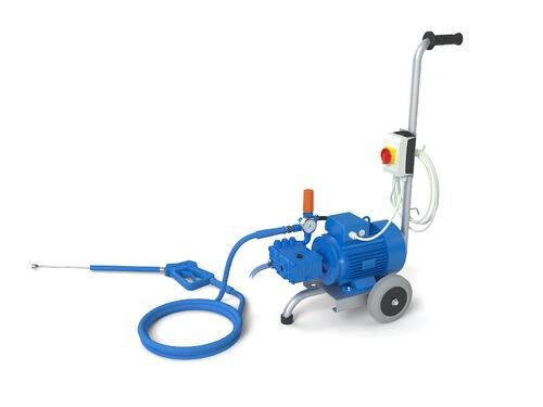 Mobile pressure booster unit 150 bar