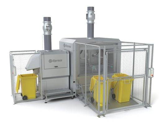 Wheelie bin/container washer