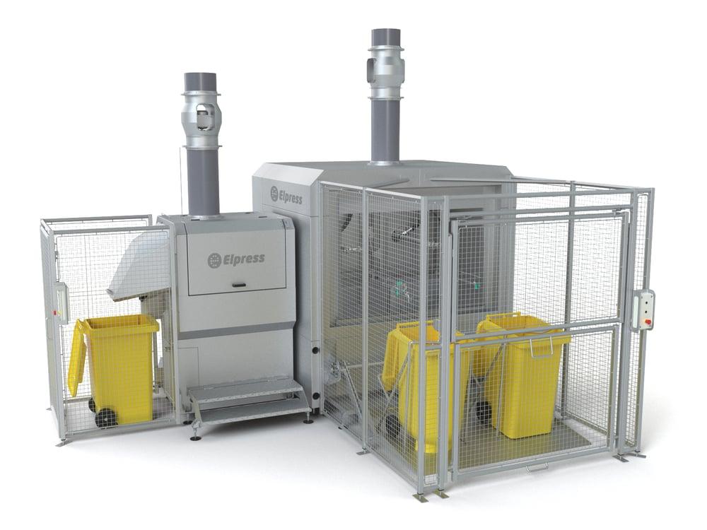 Systeme de lavage kliko/ conteneurs