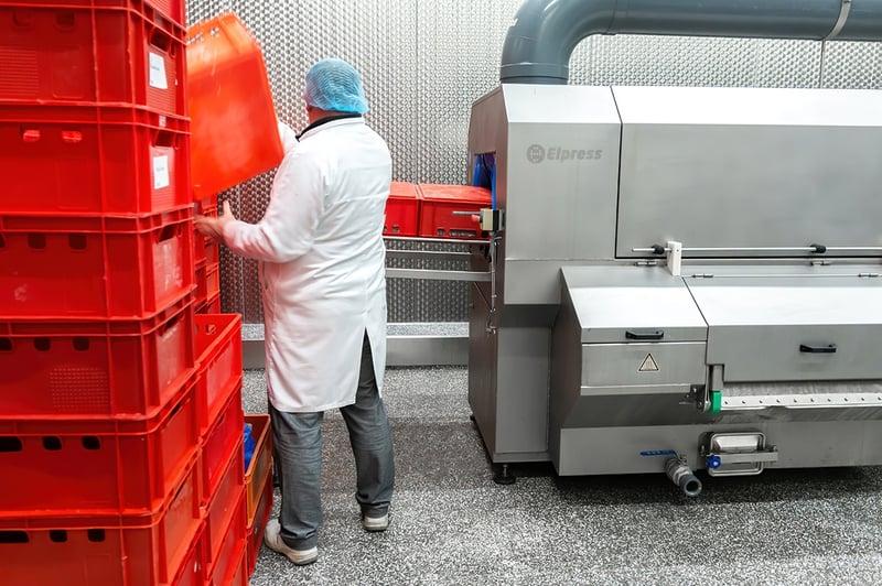 Hygiëne oplossingen voedingsmiddelenindustrie