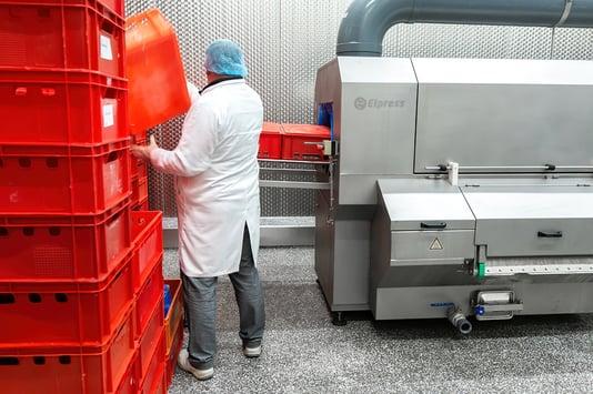Hygiëne oplossingen in de voedingsmiddelenindustrie